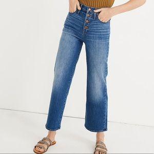 Madewell Slim Wide-leg crop